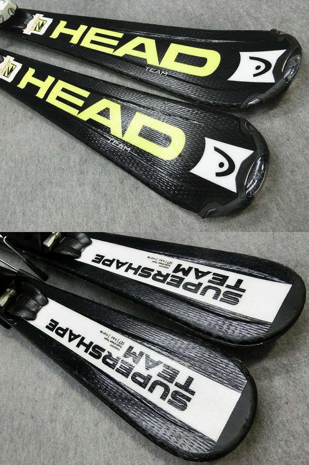 1105★ヘッド SHAPE BLK 127cm★Sセット/商品限定レンタル