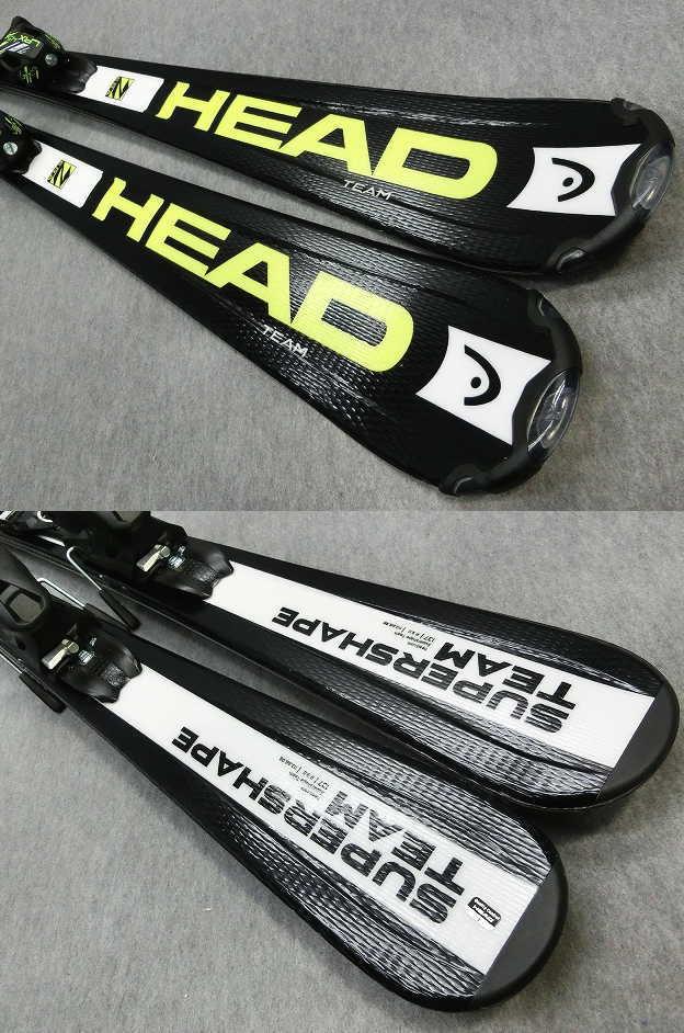 1106★ヘッド SHAPE BLK 137cm★Sセット/商品限定レンタル