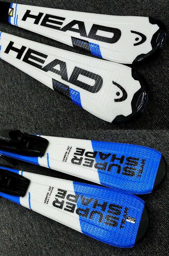 1228★ヘッド SHAPE BLU 127cm★Sセット/商品限定レンタル