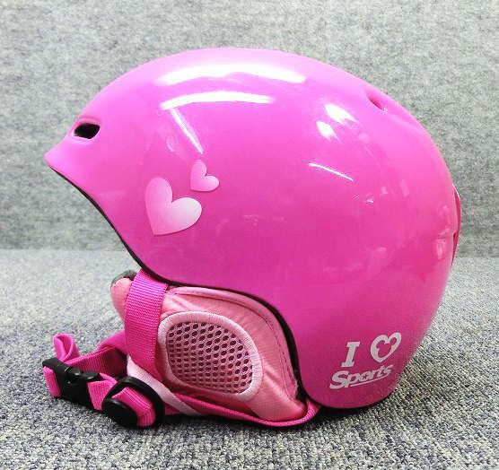 5025★ジュニアヘルメット ピンク★シーズンレンタル
