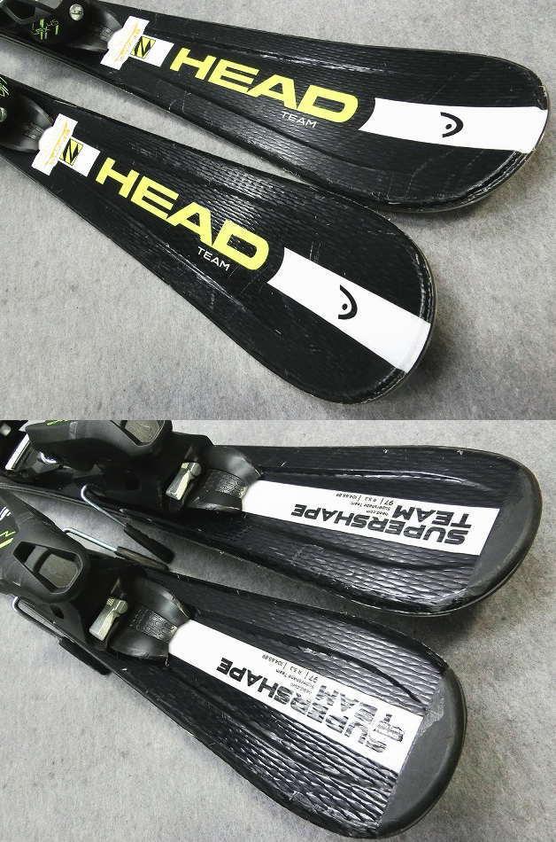 1103★ヘッド SHAPE BLK 107cm★Sセット/商品限定レンタル