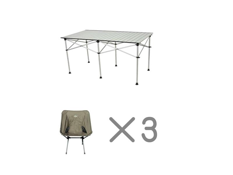テーブルチェアセット<3名様用>