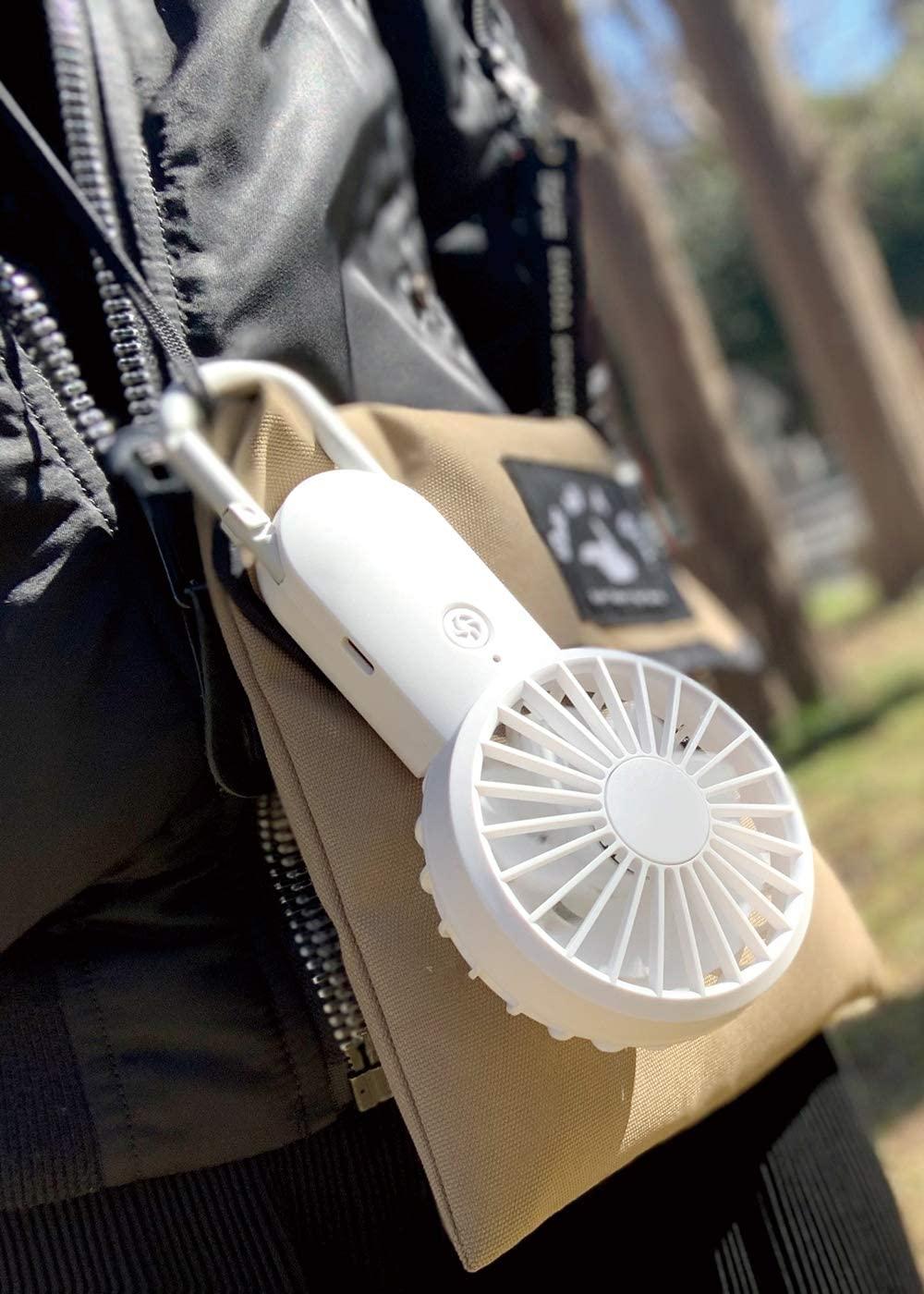 手持ち扇風機<br>Silky Wind Mobile 2 [リズム時計工業]