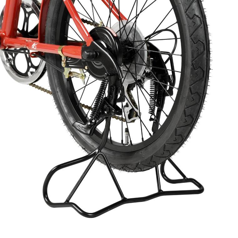 昭和インダストリーズ 超ワイドガッチリスタンド W-03SW 20 ED 黒 外装変速機付自転車対応 両立スタンド 正爪 20インチ用