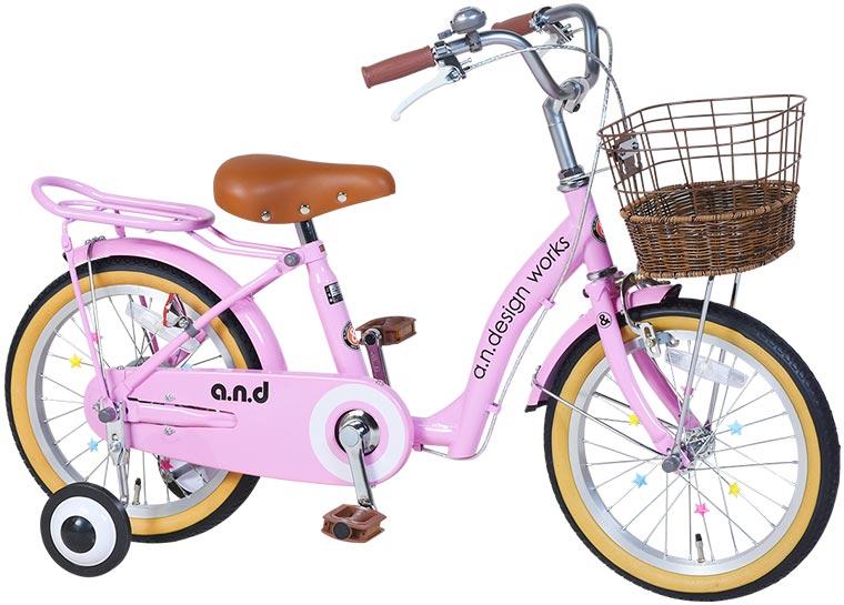a.n.design works up14 子供用自転車 14インチ