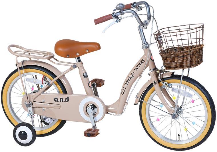 a.n.design works up16 子供用自転車 16インチ【組立済・送料無料(沖縄・離島を除く)】