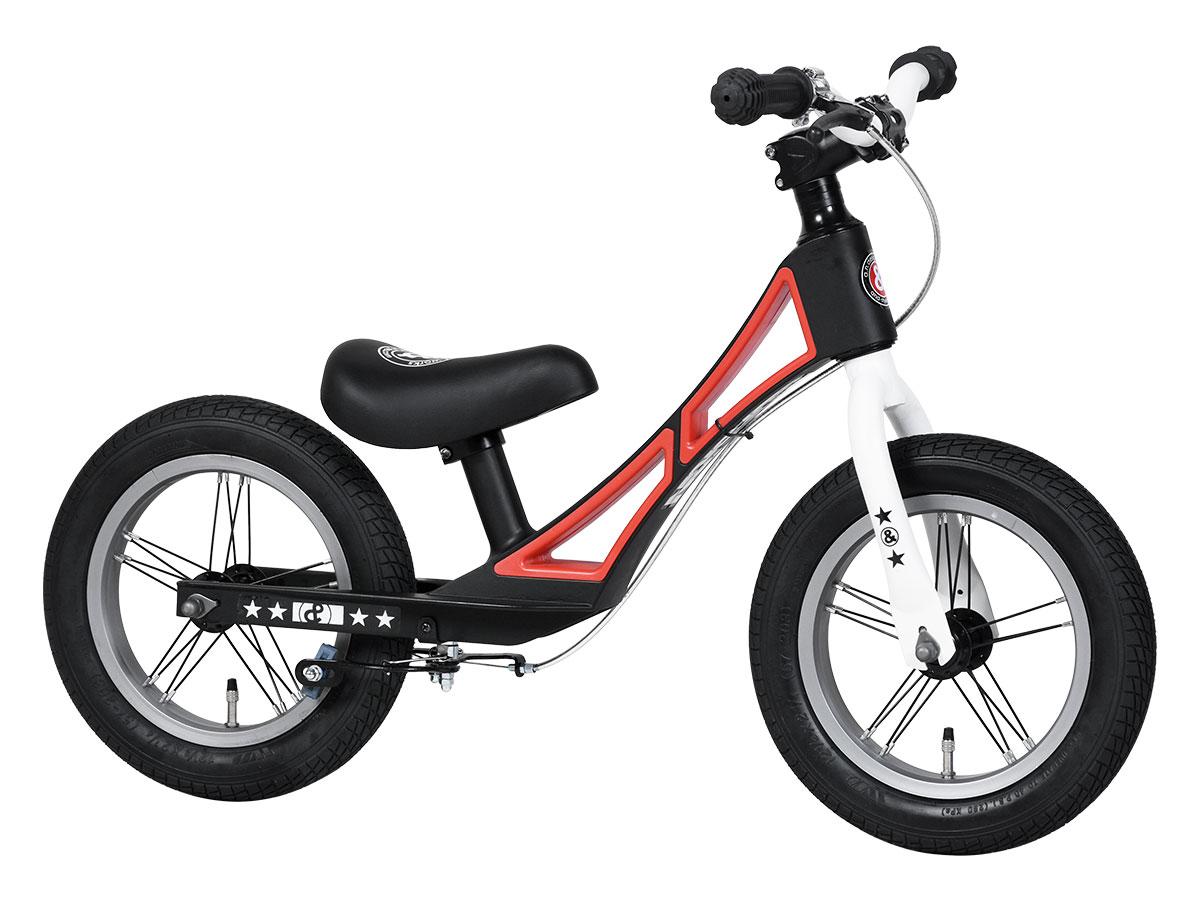 アウトレット a.n.design works a.n.d Kick アンドキック キックバイク ブレーキ付き 12インチ ステッカープレゼント