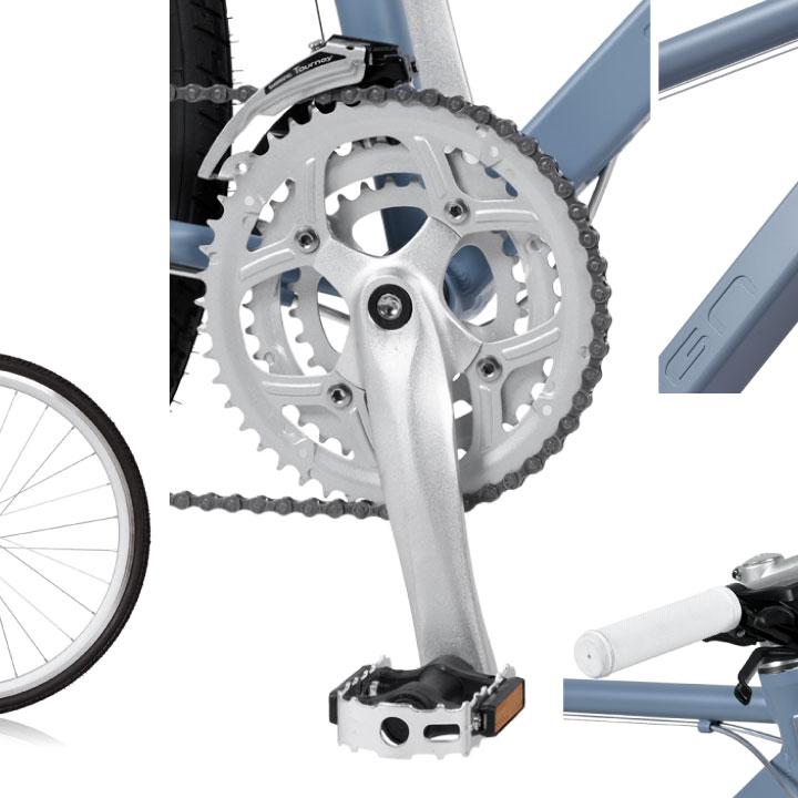 a.n.design works CNC724 クロスバイク 700c