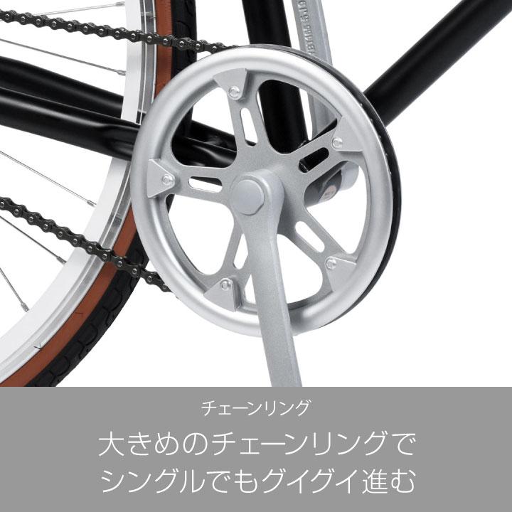 アウトレット a.n.design works Laugh530 クロスバイク 700c【お客様組立】