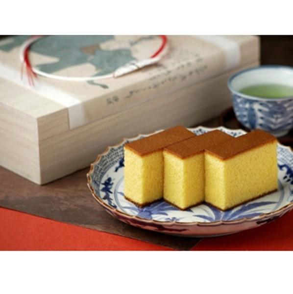 五三焼カステラ(1本、桐箱入)