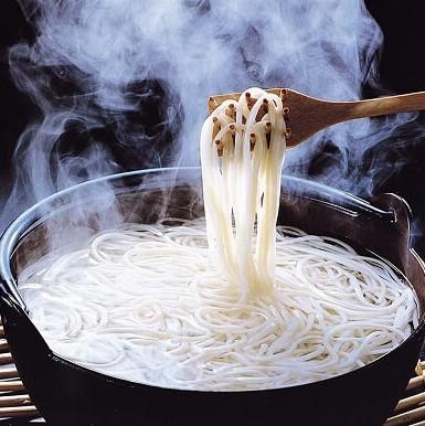 「波の絲」あごだしスープセット 2人前国産小麦100%