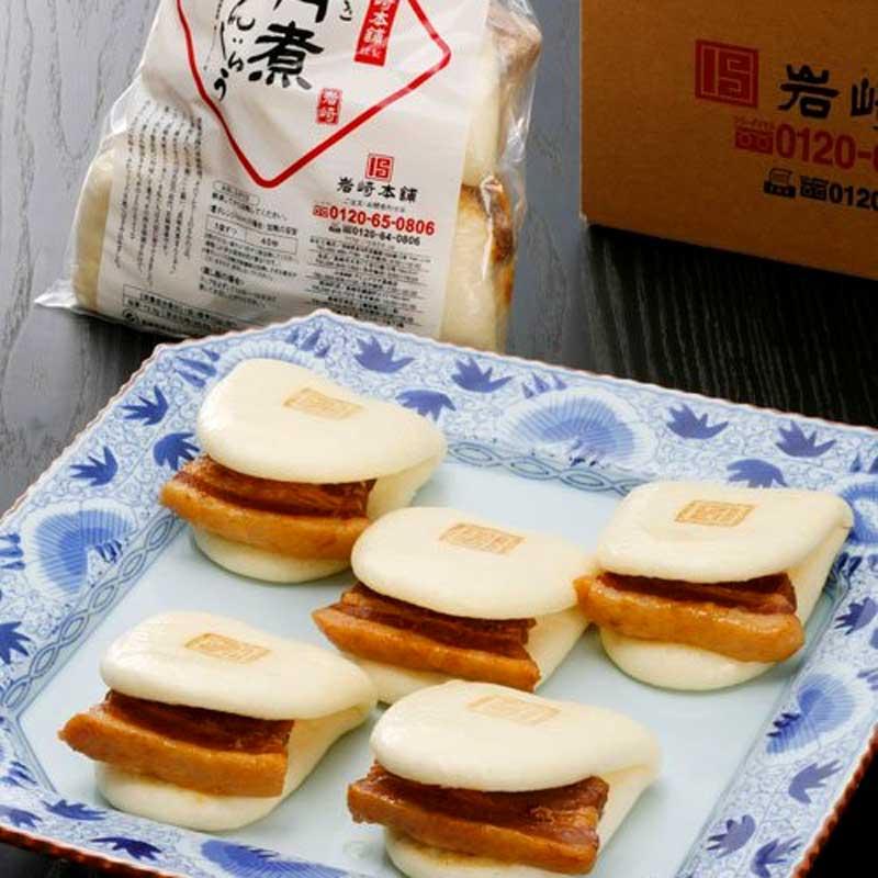 長崎角煮まんじゅう 5個入袋