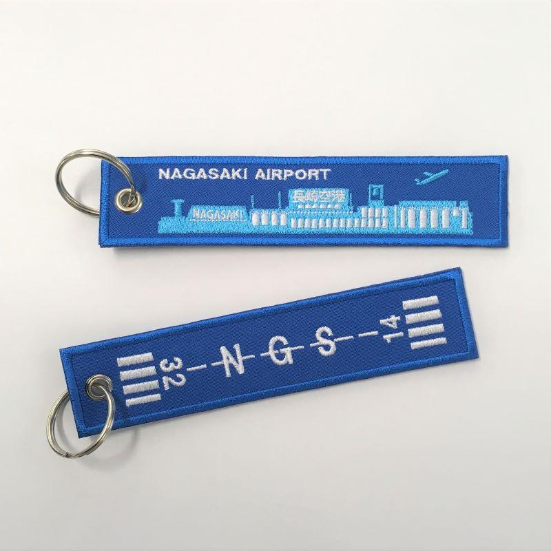 長崎空港オリジナルフライトタグ