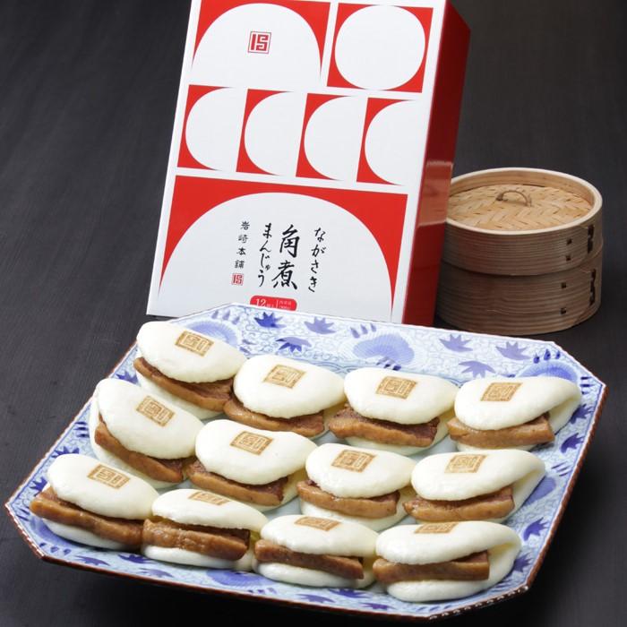 長崎角煮まんじゅう 12個