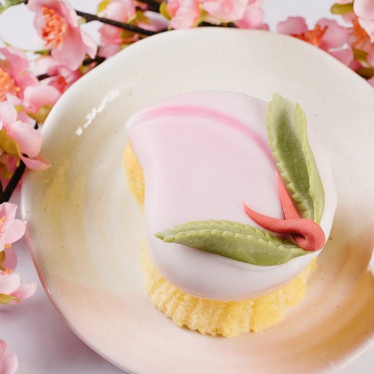 桃カステラ小 2個入