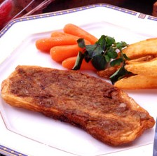 お魚ステーキ