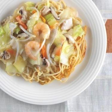 具材付き太麺冷凍皿うどん