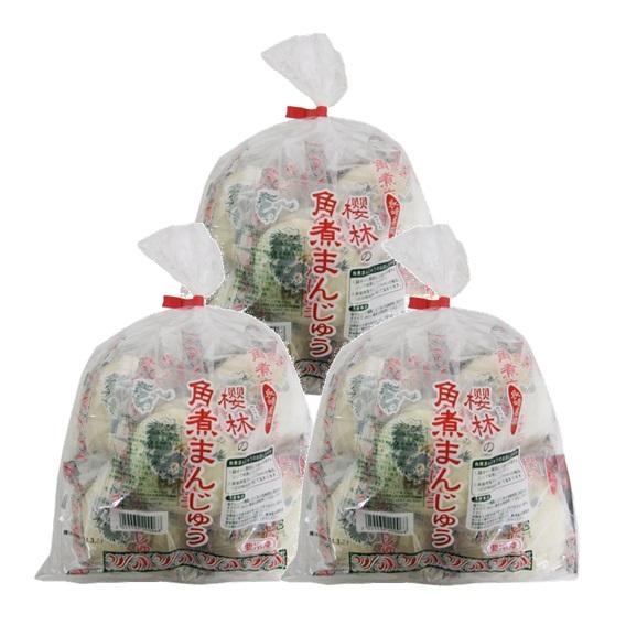 【応援企画】櫻林の角煮まんじゅう 5個袋入×3袋セット
