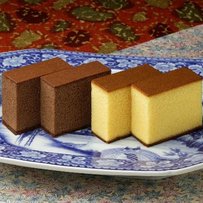 カステラ・チョコラーテ詰合せ 0.6号 2本入