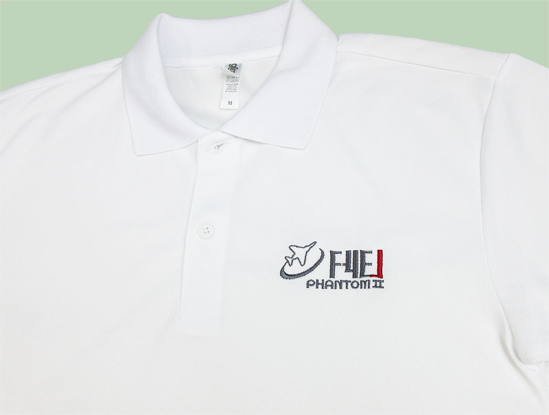 F-4EJ/F-4EJ改 刺繍ドライポロシャツ(送料込)