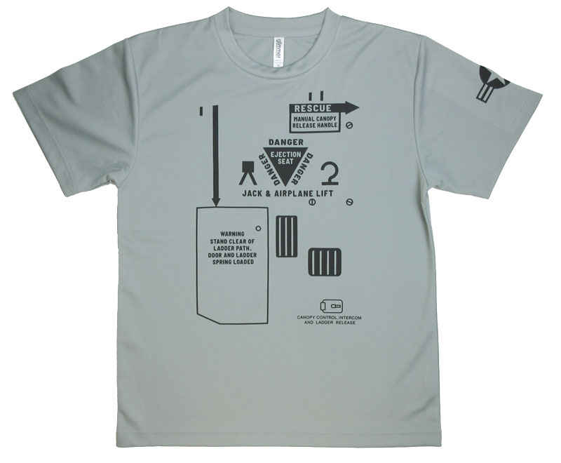 米空軍 対地攻撃機 ドライTシャツ(送料込)