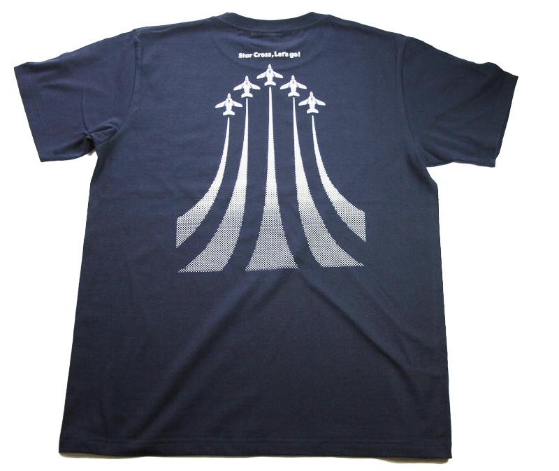 ブルーインパルス:スタークロス Tシャツ(送料込)