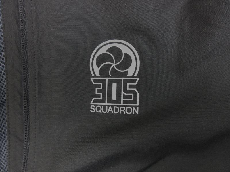 305飛行隊「梅組」スタンドジャケット (送料込)