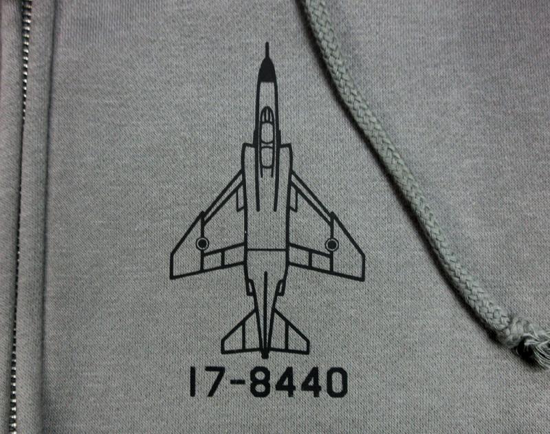 F-4EJ(改)17-8440 パーカー(裏起毛)送料込