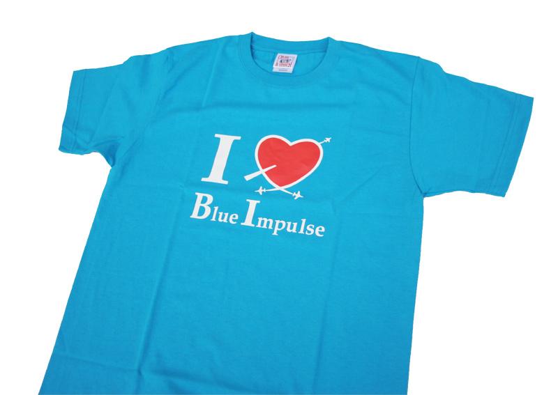 アイラブ ブルーインパルス 2色ver.Tシャツ(送料込)
