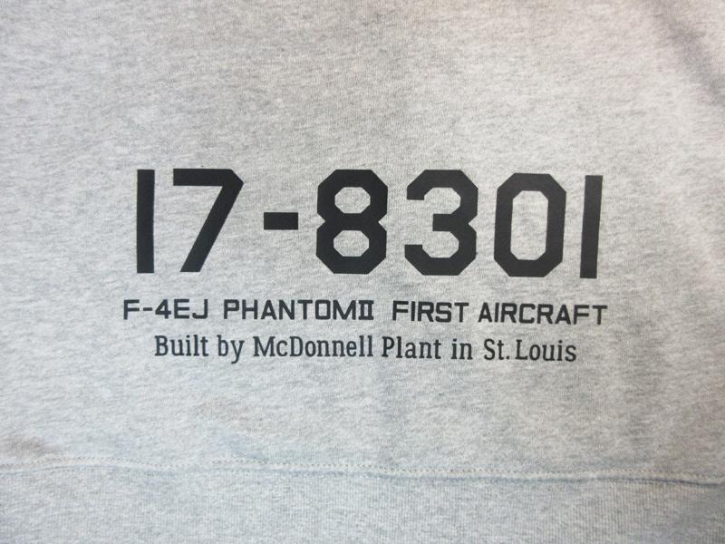 F-4EJ 飛行開発実験団 301号機パーカー(送料込)