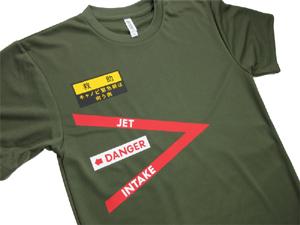 RF-4EJ'見敵必撮' ドライTシャツ(送料込)