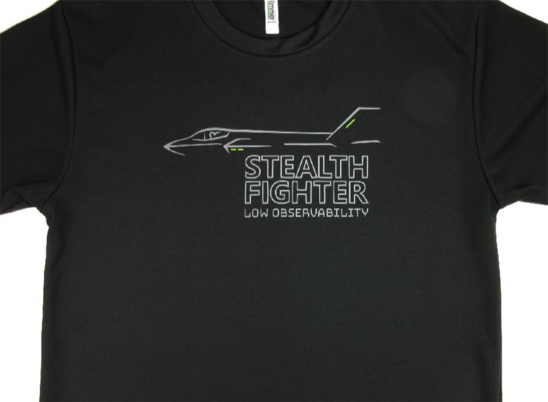 STEALTH FIGHTER(ドライ/綿)Tシャツ 送料込