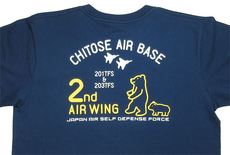 2nd Air Wing クマさん Tシャツ(送料込)