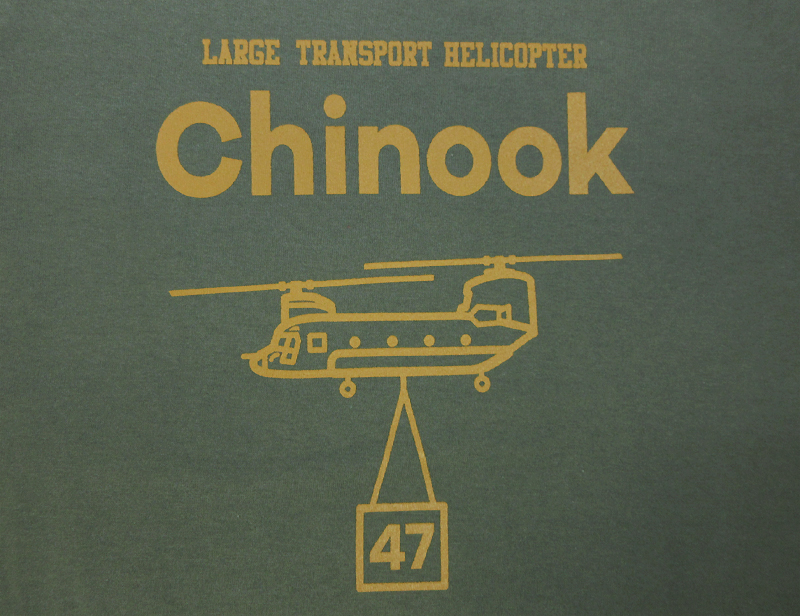 Chinook(チヌーク) Tシャツ(送料込)
