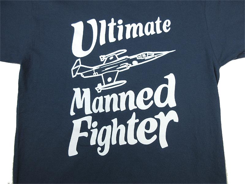 F-104最後の有人戦闘機Tシャツ(イラストリニューアル版)送料込