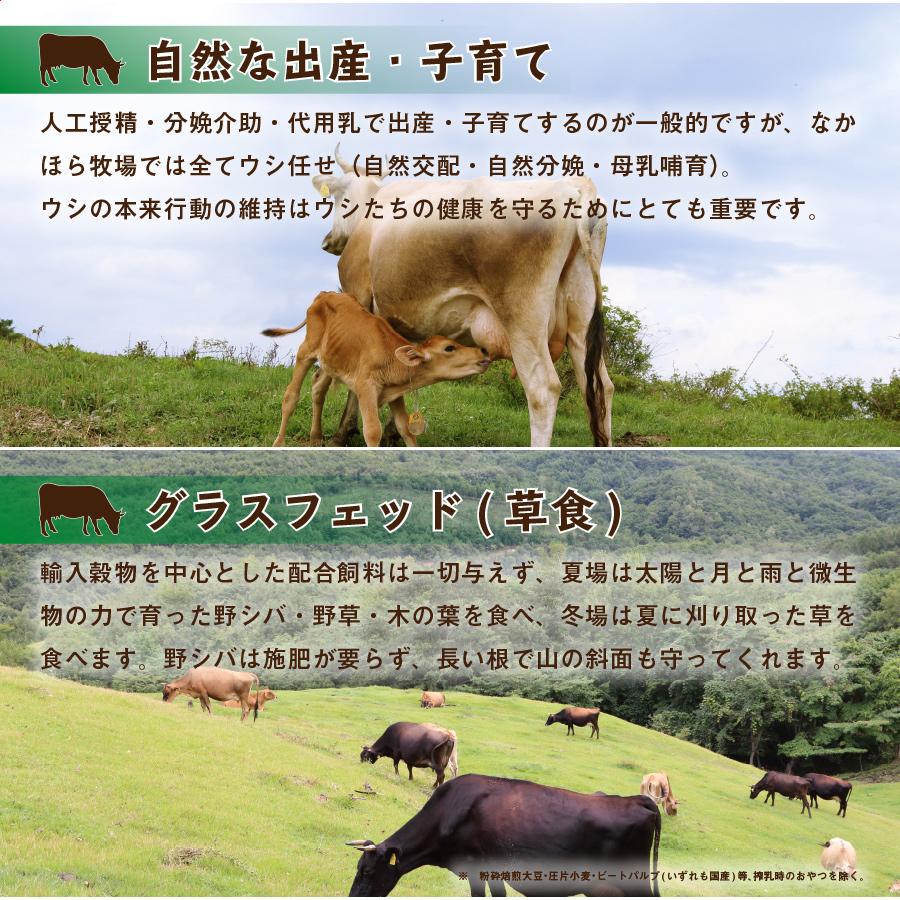 [なかほら牧場]牛乳 500ml【冷蔵】