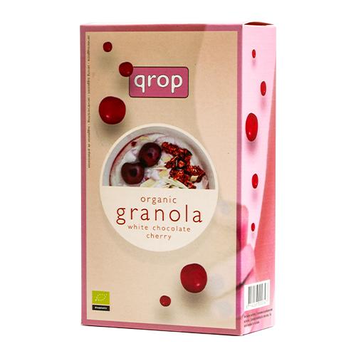 有機グラノラ ホワイトチョコレート&チェリー 400g