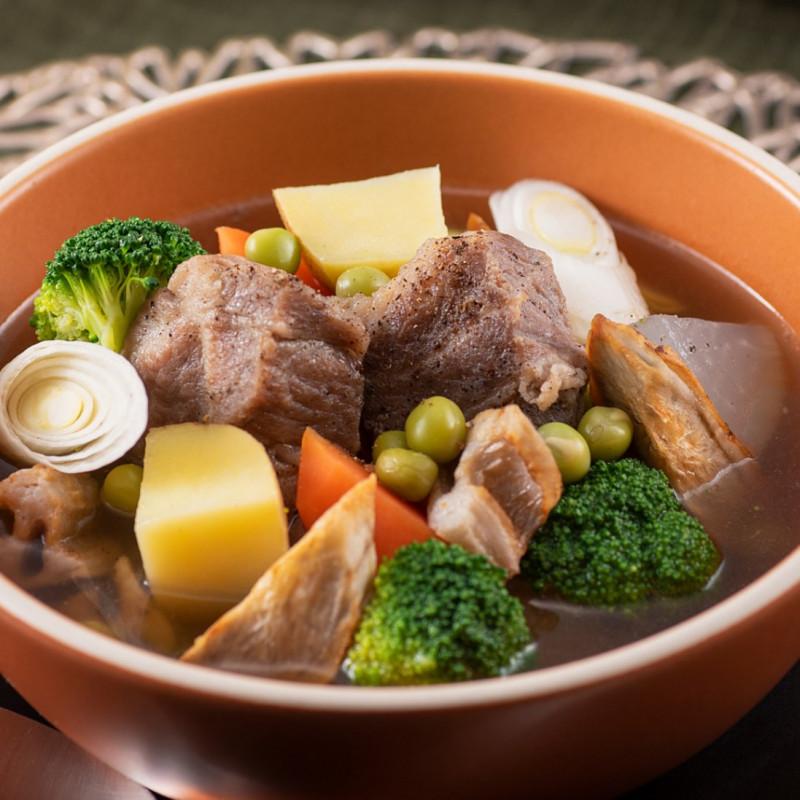 [日本料理店 きじま]放牧豚のポトフ 白だし仕立て 1食入【冷凍】