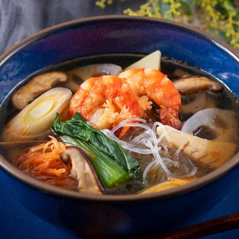 [日本料理店 きじま]和風トムヤムクン 魚醤仕立て 1食入【冷凍】