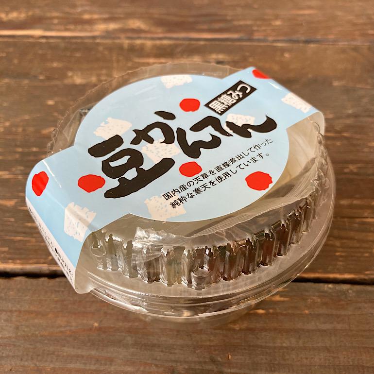 豆かんてん 黒蜜 155g