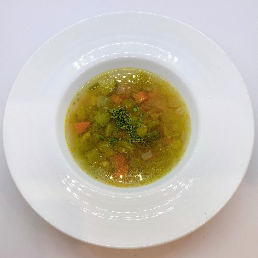 [レストランコア特製]季節の自然栽培野菜スープ【冷凍】