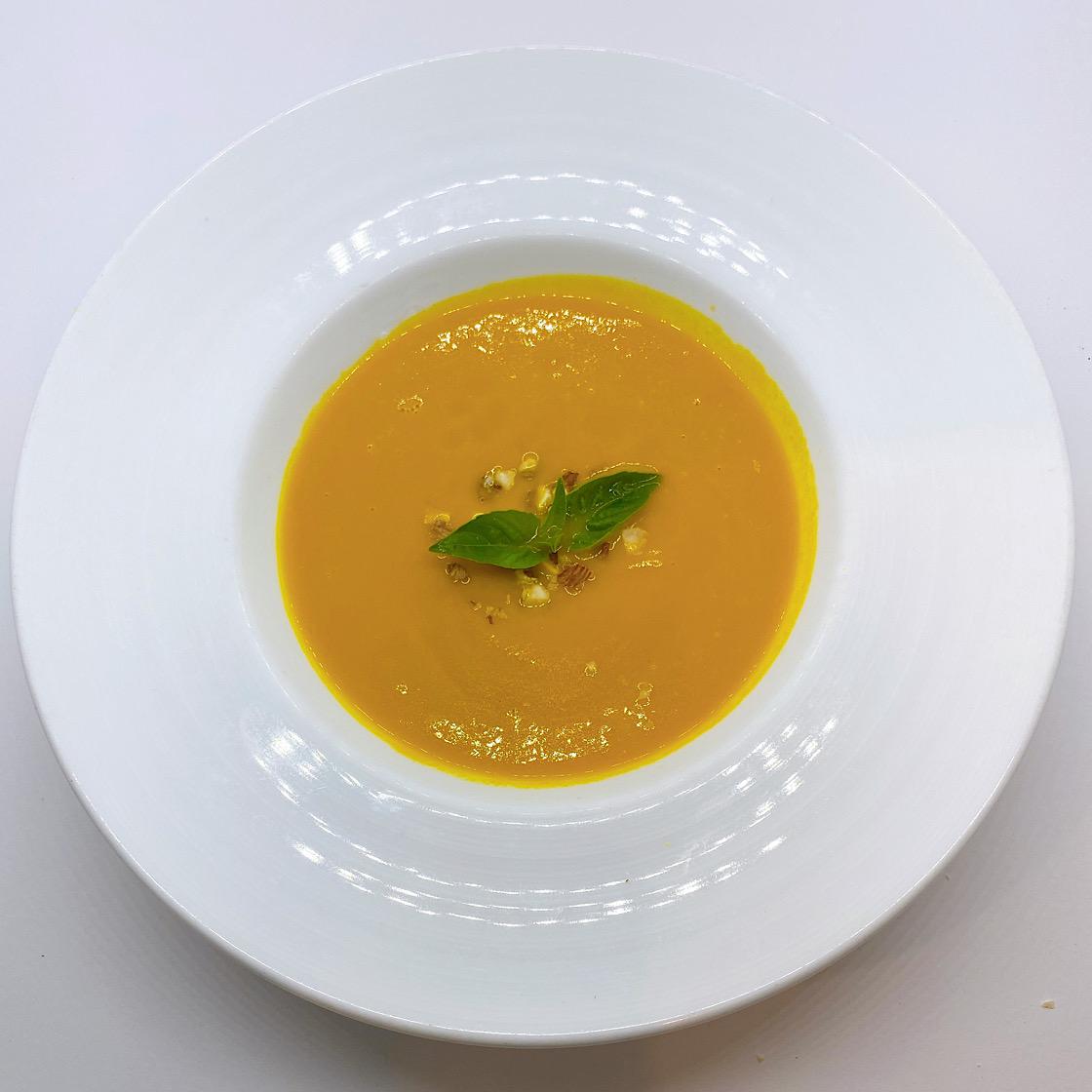 [レストランコア特製]自然栽培かぼちゃのスープ【冷凍】