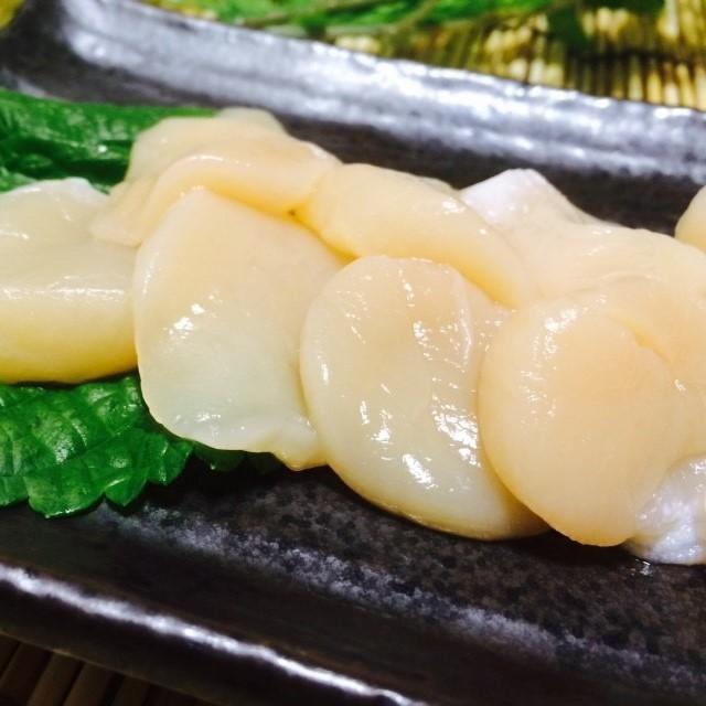 [三陸水産]お刺身ホタテ貝柱 100g【冷凍】