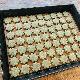 [レストランコア特製]自然栽培米粉のクッキー(よもぎ)9枚(卵・乳製品不使用)