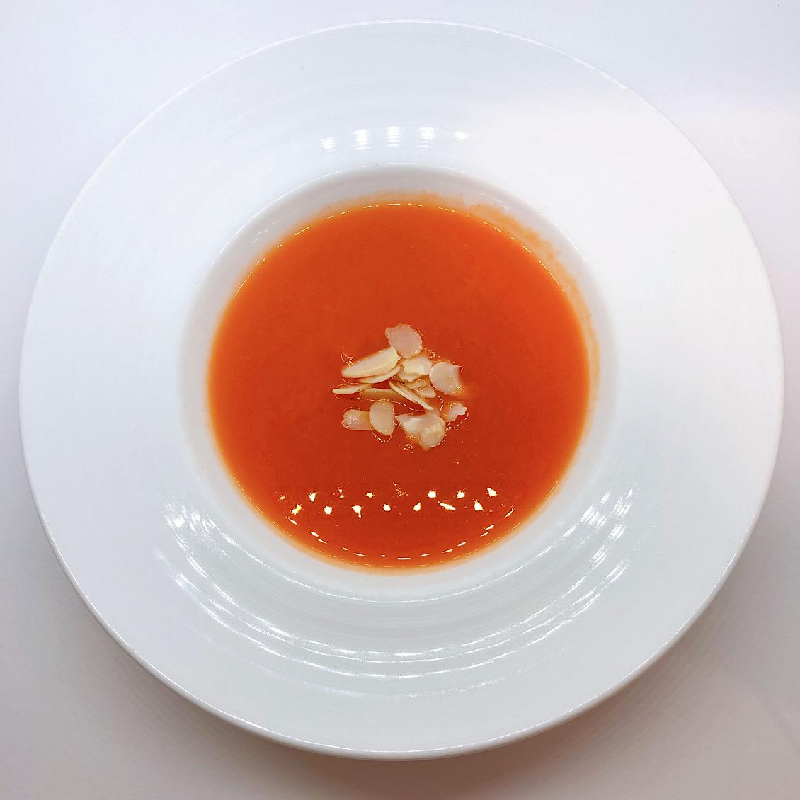 [レストランコア特製]自然栽培フルーティ人参のスープ【冷凍】