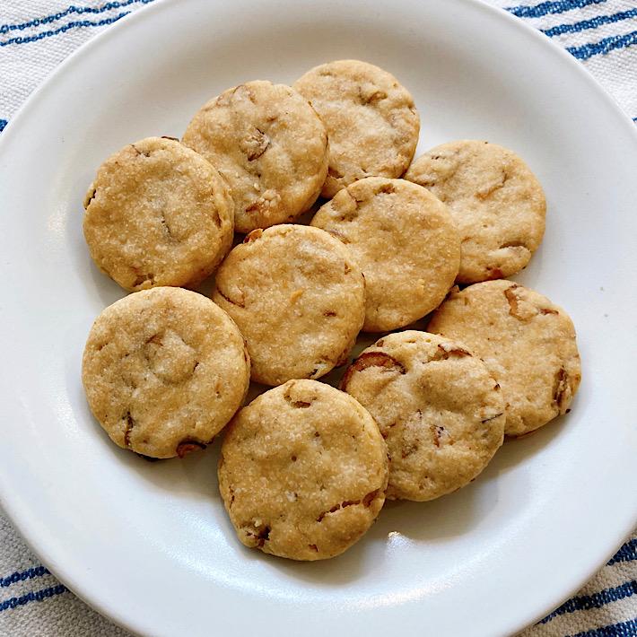 [レストランコア特製]ごぼうクッキー10枚(卵・乳製品不使用)