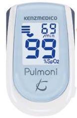 【医療機器認証】 パルスオキシメーター パルモニ KM-350 ペールブルー