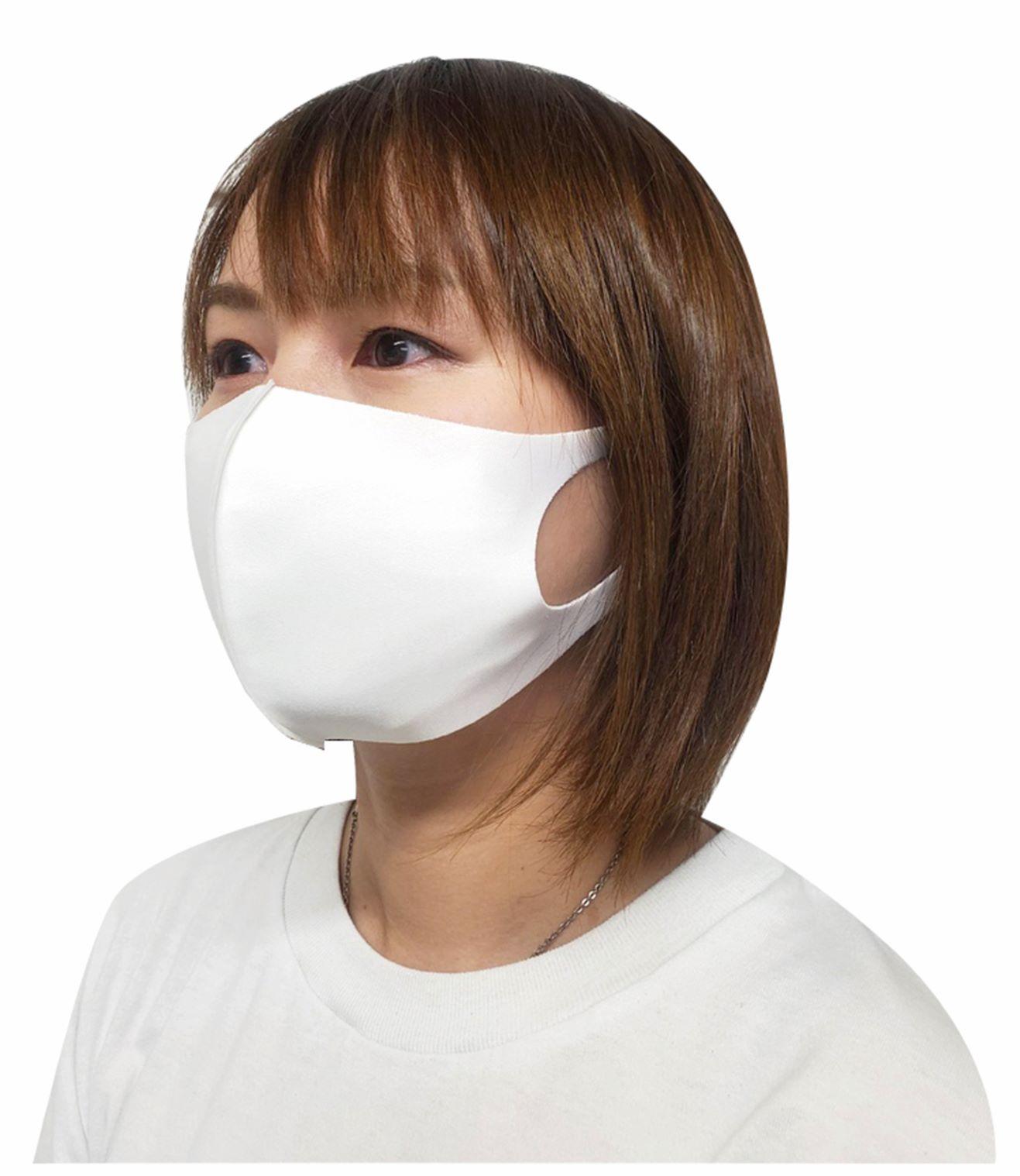 クールフィットマスク 3枚入 ホワイト