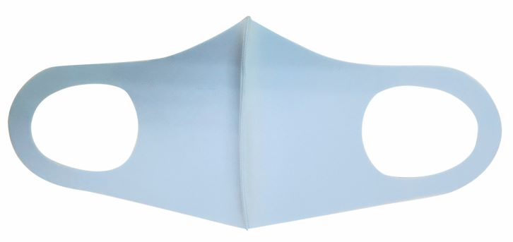 クールフィットマスク 3枚入 ブルー