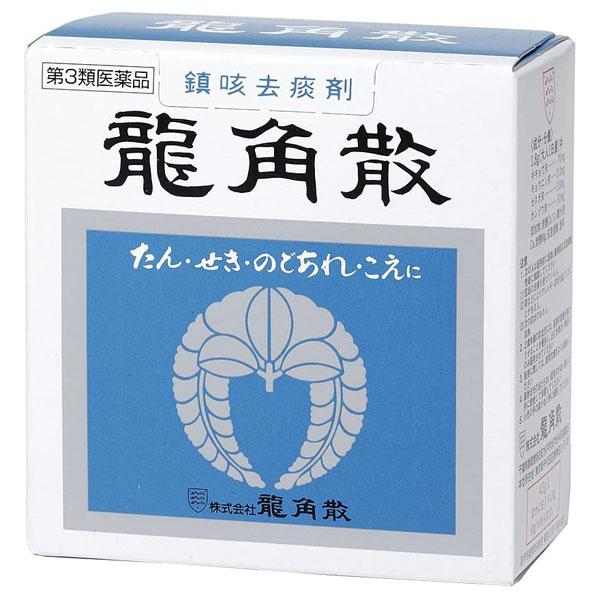 【第3類医薬品】 龍角散 43g たん・せき・のどあれに 鎮咳去痰薬 【龍角散】